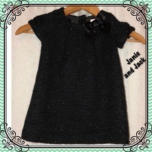 🦋Janie and jack 18/24 Months gorgeous black dress